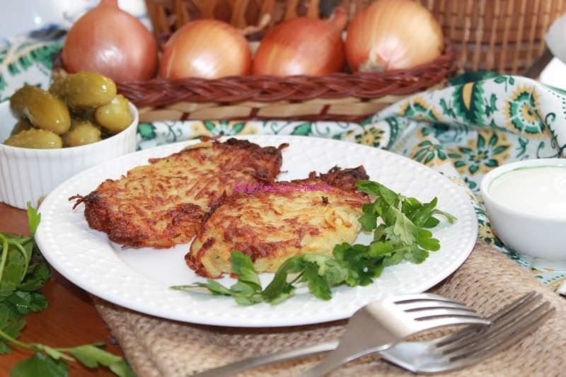 Деруны картофельные рецепт