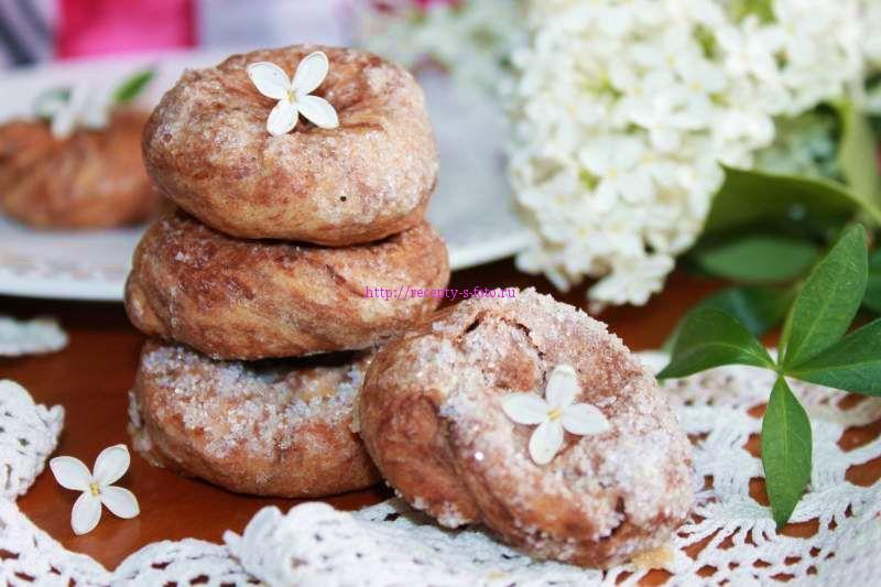 Простое печенье на кефире