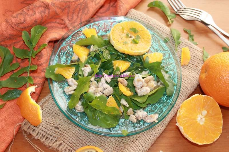 готовый апельсиновый салат