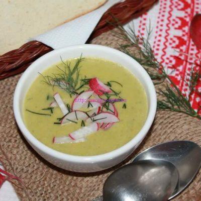 суп с редиской