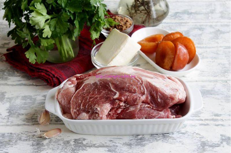 свиное мясо для рулетиков