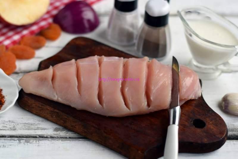 Куриная грудка с яблоками рецепт с пошаговым фото | 47 вариантов приготовления рецепта