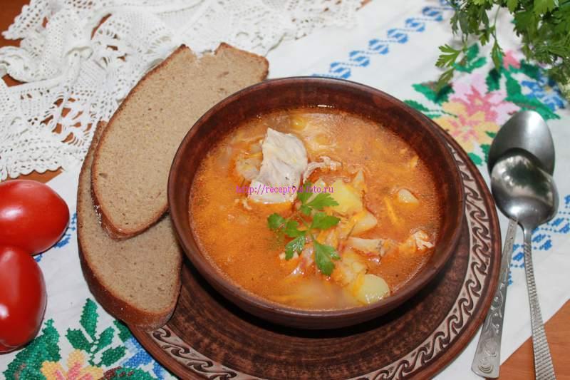готовим суп с капустой
