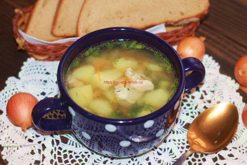 суп из мультиварке