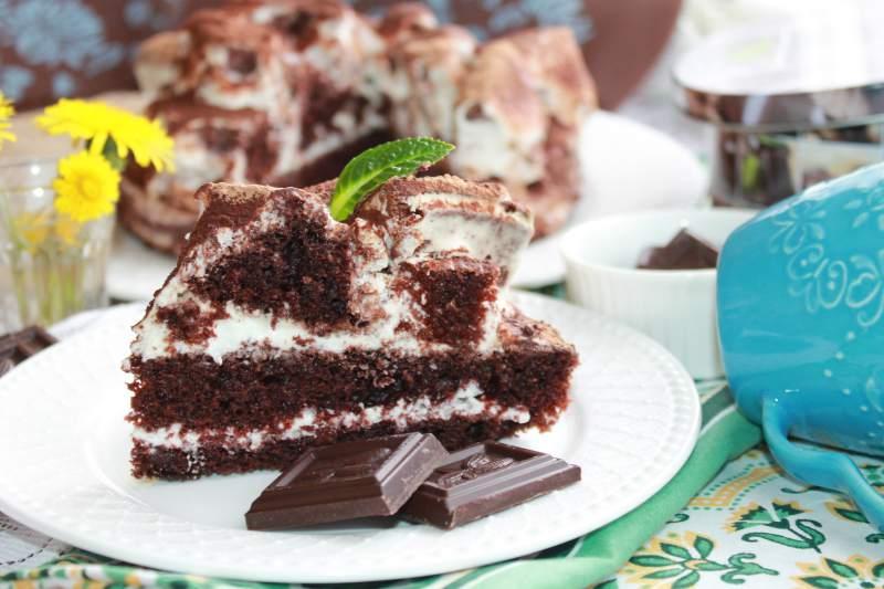 готовим торт на новый год