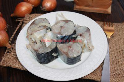 соленая скумбрия приготовленная в домашних условиях