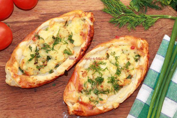 пицца турецкая с картофелем в духовке