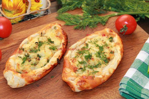 Пиде – вкусный рецепт турецкой пиццы