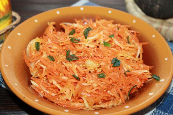 готовим салат из черной редьки