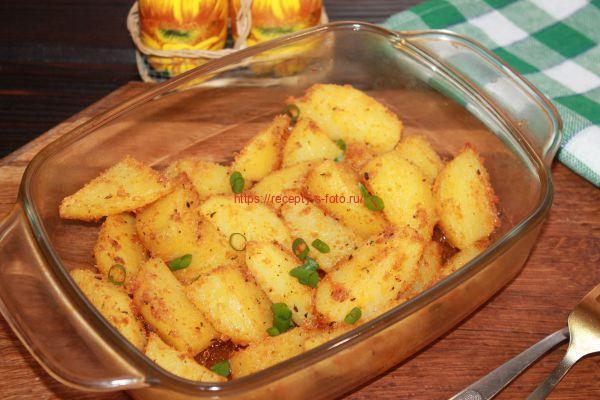 запекаем картофель в духовке