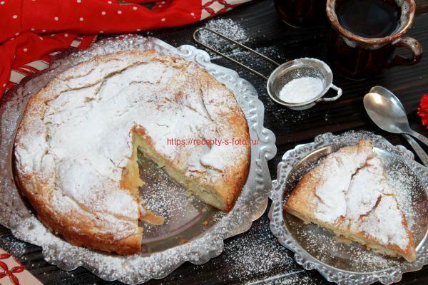 пирог фытыр в разрезе
