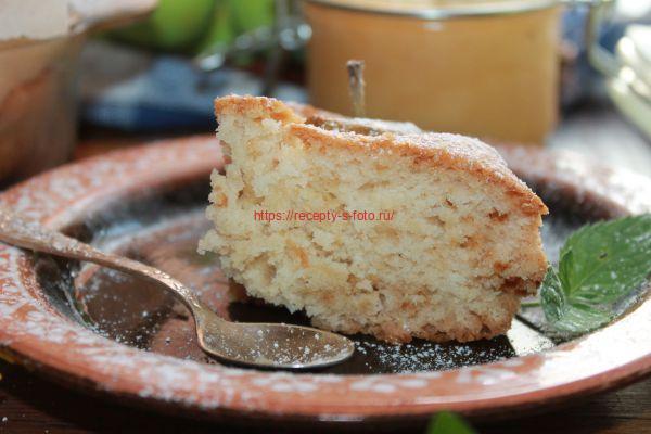 подача пирога