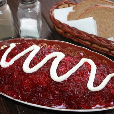 салат шуба с селедкой