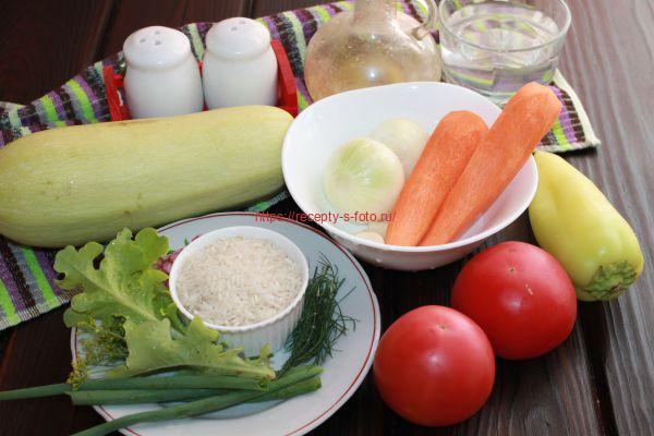 проукты для приготовления блюда