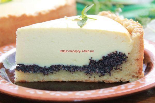 разрез готового пирога
