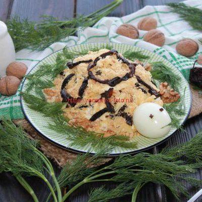 готовый салат черепаха