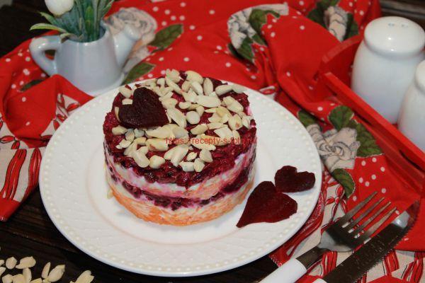 Салат Любовница – романтический рецепт утонченного блюда