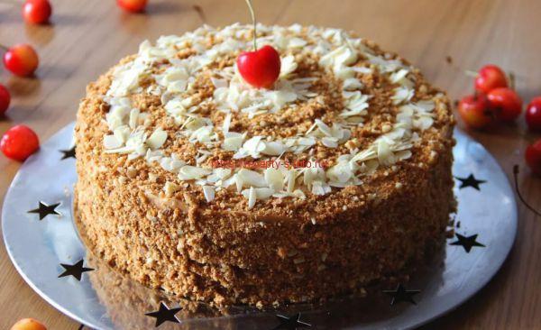 Как приготовить торт в домашних условиях